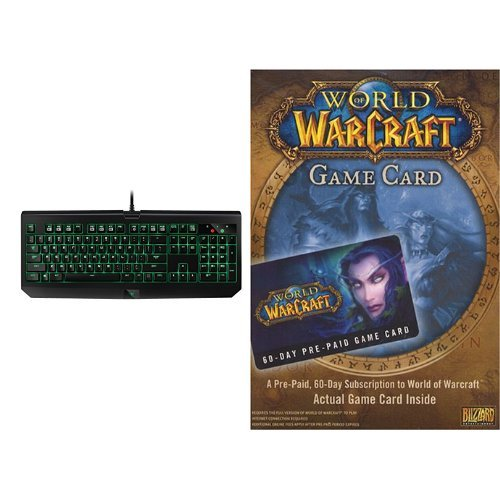 RAZER World of Warcraft 60 Day Game Time [Digital Code] a...