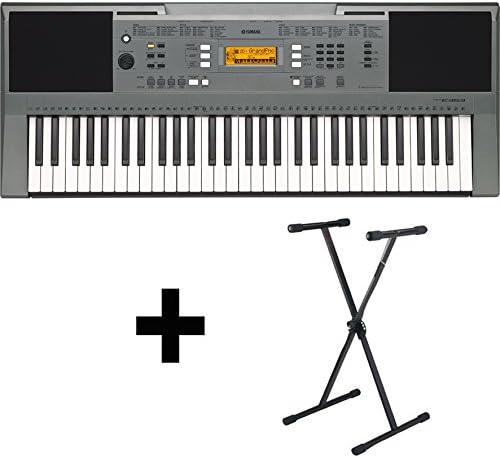 Yamaha PSR E353 Teclado con soporte de teclado: Amazon ...