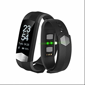 Pulsera Deportiva Intelligente Fitness Tracker reloj inteligente IP67 impermeable Smartwatch Podómetros Contadores de calorías Pulsómetros Índice de salud ...