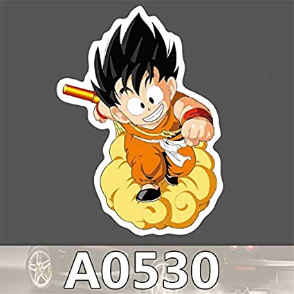 Gadgets Wrap A0530 Punk Cool Dragon Ball Son Goku Sticker For Car