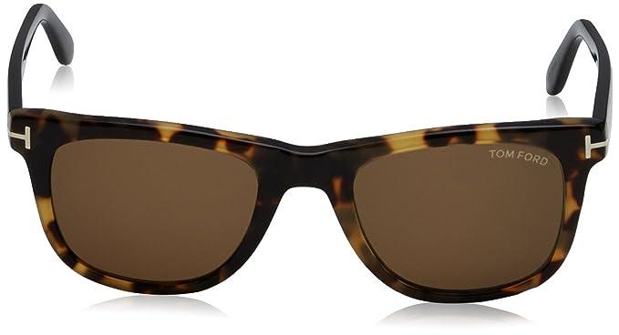 1b9609bc10898 Amazon.com  Tom Ford 336 55J Tortoise Leo Wayfarer Sunglasses Lens Category  3 Lens Mirrored  Tom Ford  Shoes