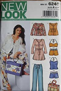 New Look Pattern 6246 Misses Beach and Lounge Wear Sizes 6-16
