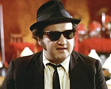 John Belushi in The Blues Brothers in hat and sunglasses 16x20 Poster at  Amazon s Entertainment Collectibles Store 0dc67895c7f