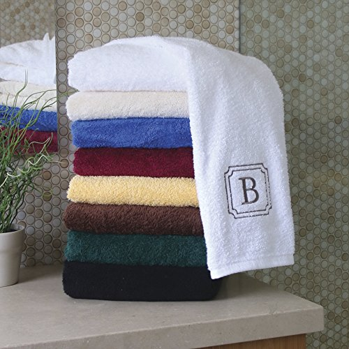 Personalized Monogrammed Bath Linens for Home, Office, and G