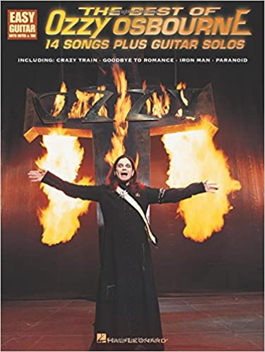 the best of ozzy osbourne 14 songs plus guitar solos crazy train goodbye to romance iron man paranoid