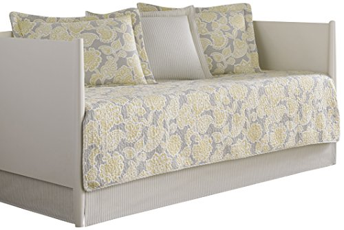 Laura Ashley 5-Piece Joy Daybed Cover Set, Twin, Floral