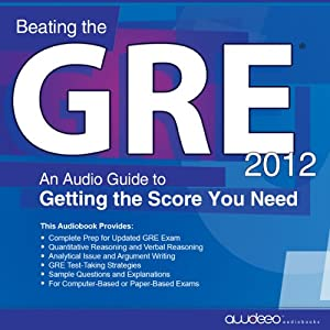 Beating the GRE 2012 Audiobook