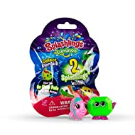 Splashlings Luminos Mystery 2 Pack - Collectors Pack Contains 2 Figurines with Glow in The Dark Chance.
