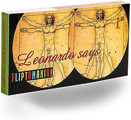 Leonardo Says Pump Up with Art Flipbook Fliptomania SG/_B004O7G2VQ/_US