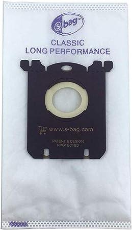 LongRong 15 sacchetti per Electrolux Philips FC8021 S-Bag aspirapolvere