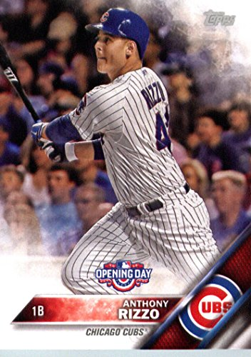 2016 Topps Opening Day Od 20 Anthony Rizzo Chicago Cubs Baseball Card Mint