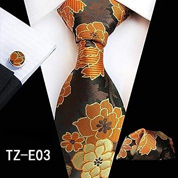 LFLJIE Conjunto de Corbata de Seda de 71 Colores para Hombres ...