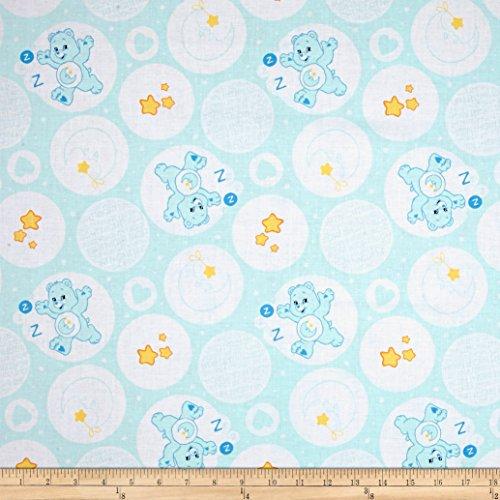 CAMELOT Fabrics Care Bears Bedtime Bear Blue Fabric by The Yard (Care Fabric Bear)