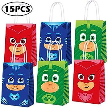 Amazon.com: Bolsas de regalo para fiestas de PJ Masks Party ...