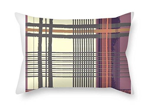 (cosbudy Pillowcover of Colorful Geometry 20 X 30 Inches / 50 by 75 cm Best Fit for Dining Room Dinning Room Husband Saloon Bf Pub Two Sides)