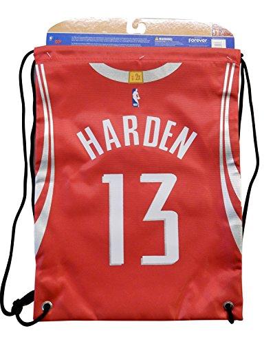 0bd4f22e34133 Forever Collectibles Houston Rockets James Harden #13 String Bag Backpack