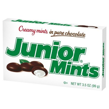 Junior Mints 3.5 Ounce box (six boxes)