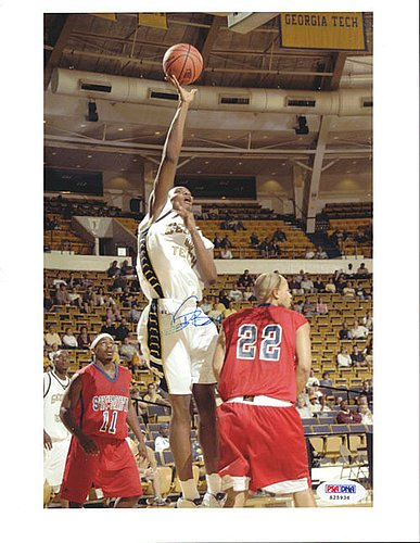 Chris Bosh Signed 8x10 Photograph Georgia Tech - Certified Genuine Autograph By PSA/DNA - Autographed Photo