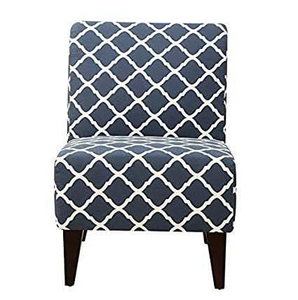 Hebel Picket House North Geometric Accent Slipper Chair | Model CCNTCHR - 141 |