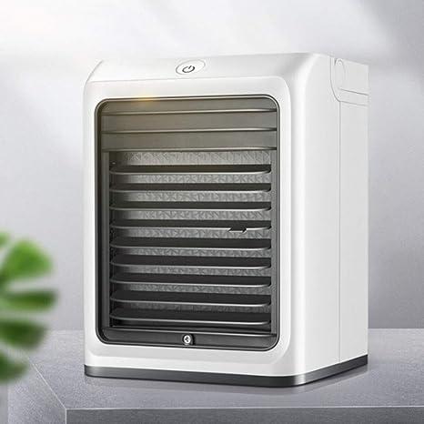 Opinión sobre Fbestfan Aires acondicionados móviles portátil; humidificador y purificador del Aire; con Puerto de USB, Modelo NVC07