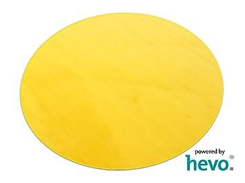 Teppich gelb  Romeo gelb HEVO ® Teppich | Kinderteppich | Spielteppich 160 cm Ø ...