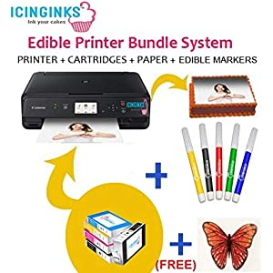 graphic regarding Edible Printable Paper named : Edible Printer Ink Paper: Grocery Connoisseur Foodstuff