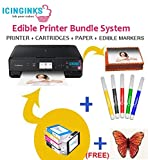 Icinginks Edible Image Printer Bundle for Cakes and Cookies – Includes Cake Printer - Best Reviews Guide