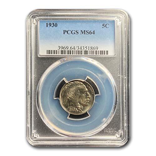 1930 Buffalo Nickel MS-64 PCGS Nickel MS-64 PCGS