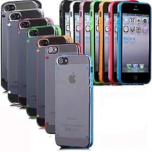 TY-Resplandor en caja transparente oscuro para 5/5s iphone (colores surtidos)