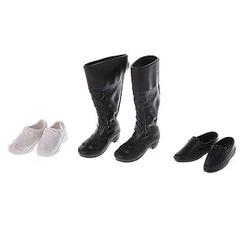 Cuigu 3 Arten Kombination Cusp Schuhe Lederschuhe Stiefel Zubehör Für Ken Puppe
