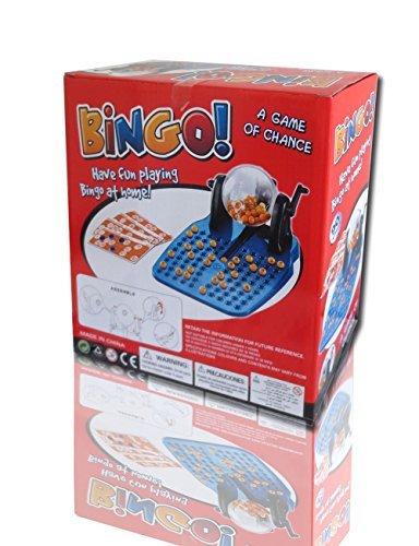 ファッション楽しい経済ケージBingo Lottoゲームセットギフト誕生日パーティー家族、ゲーム、クリスマス、48カード、90番号
