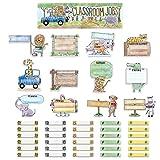 Creative Teaching Press Mini Bulletin Board Safari Friends Classroom Jobs Ctp 2185 with