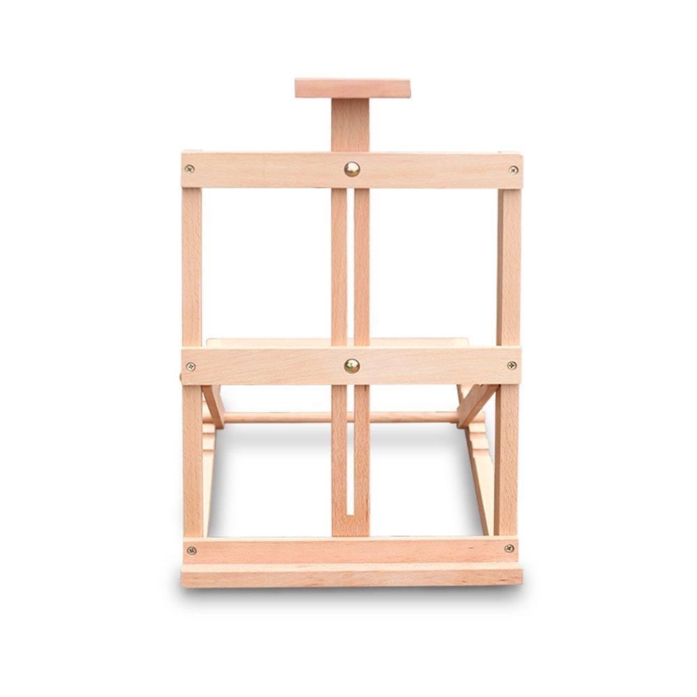 FXNN イーゼル - スタイリッシュ シンプル 木製 折りたたみ式 デスクトップ スモール イーゼル 33*35*48cm FXNN 008 33*35*48cm  B07KR4WR35