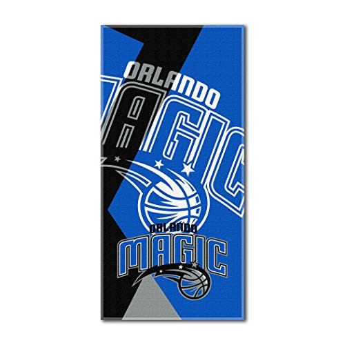 The Northwest Company Officially Licensed NBA Orlando Magic Puzzle Beach Towel, 34