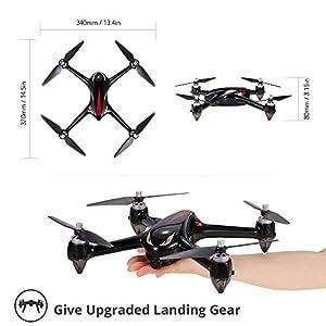 Teeggi Accessories 4pcs Landing Gear for MJX B2C B2W Bugs 2 Bushless from Teeggi