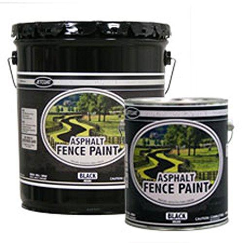 Premium Grade Asphalt Fence Paint - Black (Gallon) ()