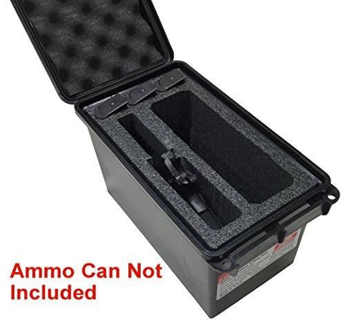 Case Club 1 Pistol & Accessory Holder MTM 50 Cal Ammo Can Foam (Pre-cut, Closed Cell, Military Grade Foam)