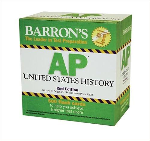 Amazon com: Barron's AP United States History (8580001056777