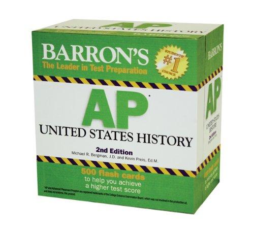 Barron's AP United States History Flash Cards