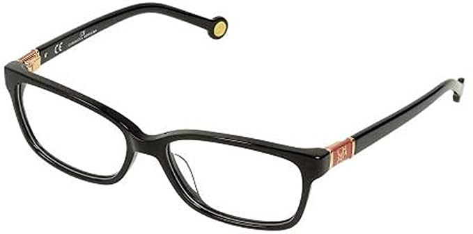 f33ee8d6116 Image Unavailable. Image not available for. Color  Carolina Herrera Glasses  Women VHE591 54700X Black Full Frame