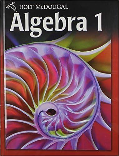 holt mcdougal burger algebra 1 common core 2012