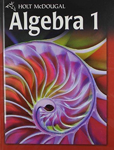 Holt McDougal Algebra 1 by Edward B. Burger (2011-05-03)