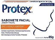 Sabonete Facial Protex, Anti Cravos e Espinhas, 85g