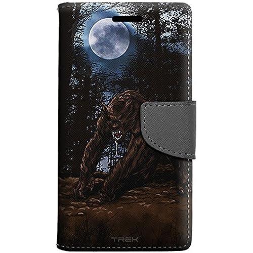 Samsung Galaxy S7 Edge Wallet Case - Humanoid Wolf Case Sales