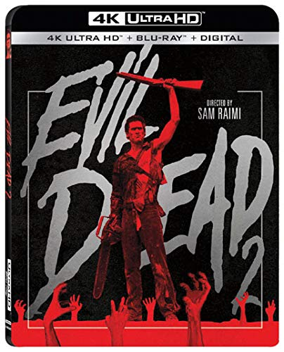 4K Blu-ray : Evil Dead 2 (With Blu-ray, 4K Mastering, Digital Copy, Widescreen, 2 Pack)