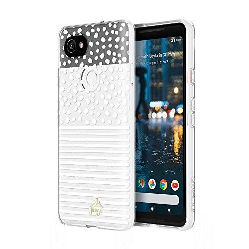 Price comparison product image Incipio Dots & Stripes Google Pixel 2 XL Case [Oh Joy x Incipio] for Google Pixel 2 XL - Dots & Stripes