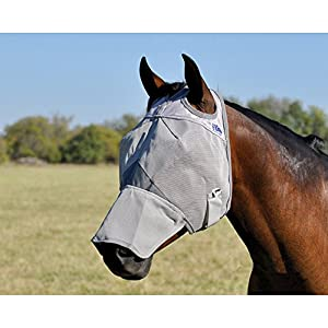 Cashel Crusader Fly Mask with Long Nose - All Sizes