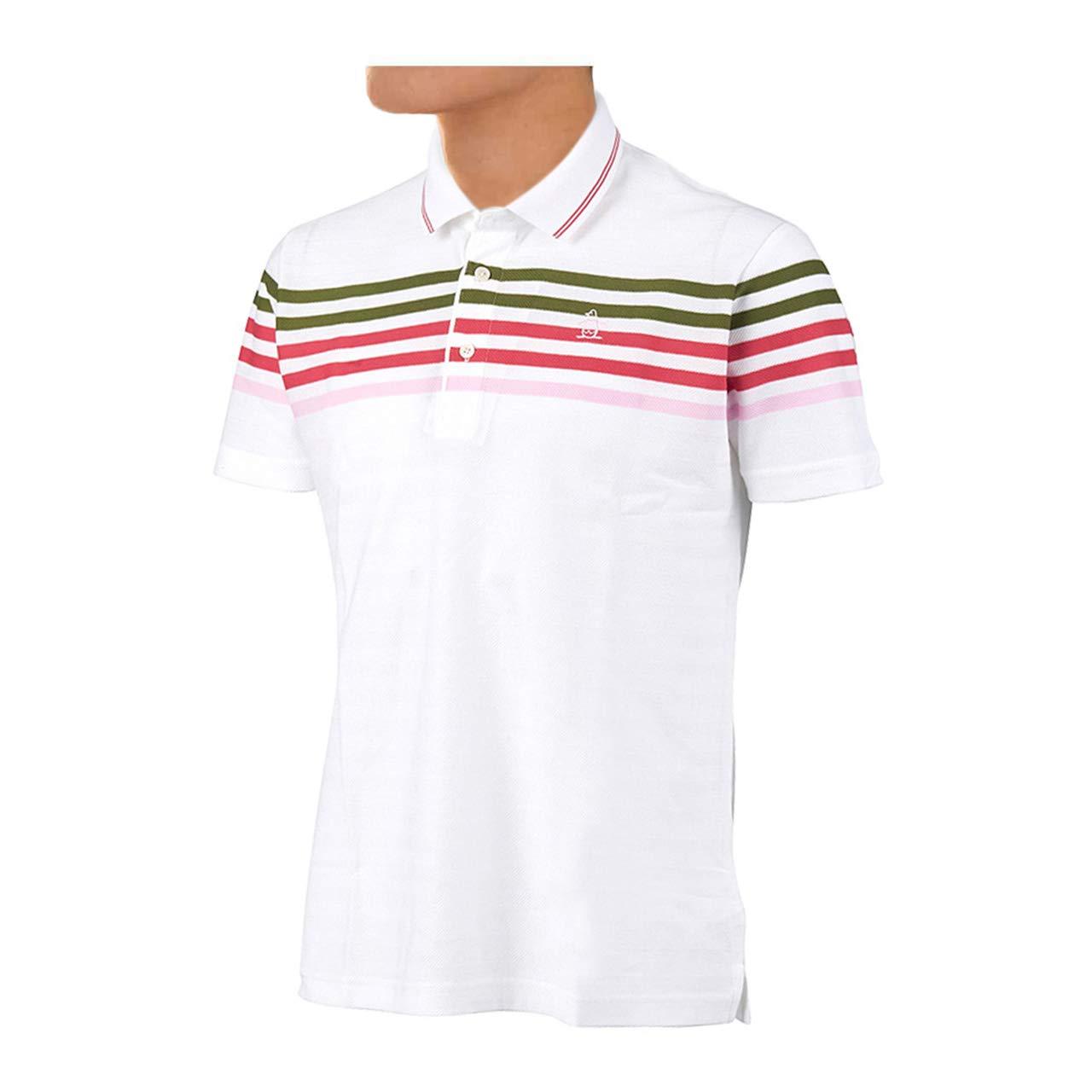 マンシングウェア(Munsingwear) 半袖シャツ MGMLGA08 WH00 ホワイト L   B07BHH4B2V