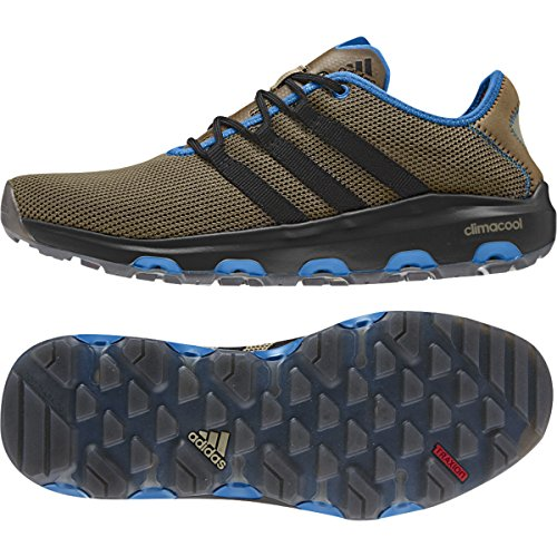 adidas Climacool Voyager, Zapatillas de Deporte Unisex Adultos Earth, Black, Shock, Blue