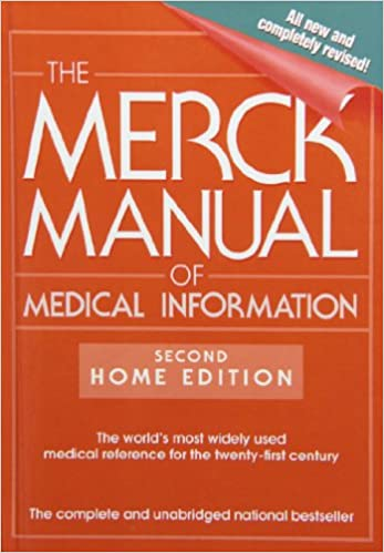 The merck manual of medical information second home edition the merck manual of medical information second home edition merck manual of medical information home edition 9781435290334 medicine health science fandeluxe Choice Image